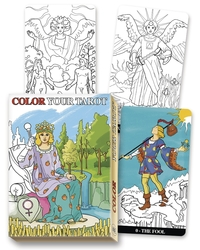 Color Your Tarot, by Lo Scarabeo