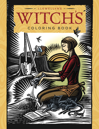 Llewellyn's Witches' Coloring Book