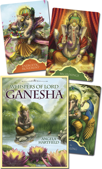 Whispers of Lord Ganesha, by Angela Hartfield & Ekaterina Golovanova