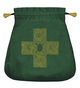 Celtic Cross Velvet Bag
