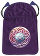Magic Star Satin Tarot Bag