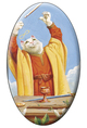 Tarot of the White Cats The Magician Magnet