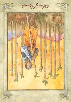 Nine of Wands - Reversed