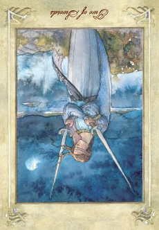 Two of Swords - Reversed