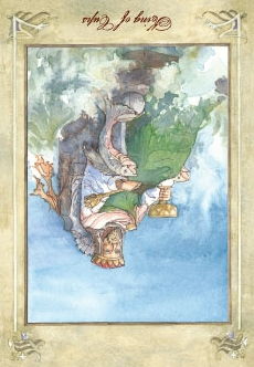 King of Cups - Reversed