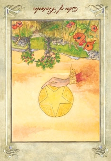Ace of Pentacles - Reversed