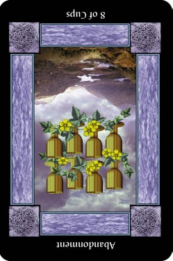 8 of Cups - Reversed