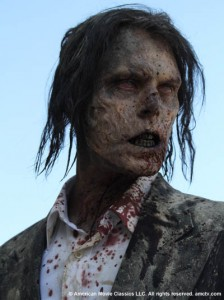 Zombie from the new AMC series The Walking Dead