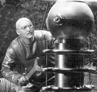 "Dr Alexander Thorkel (played by Albert Dekker) from from the movie ""Dr. Cyclops"" (1940)"
