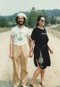Isaac Bonewits and Deborah Lipp at Starwood, 1987